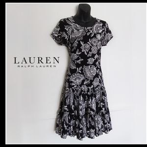 Full Double Tier Ruffled Midi Dress | Ralph Lauren
